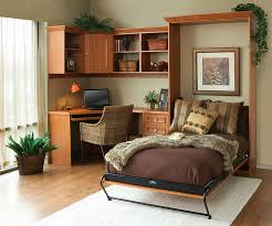 Creative Bedroom Workspaces With Style And Practicality - Home office in living room design