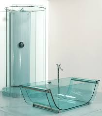 All In One Bathtub And Shower Prizma Glass Bath Collection Prizmastudio