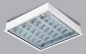 fluorescent lights modern fluorescent light grid cover 1