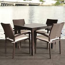 Outdoor Rattan Dining Chairs Dining Room Square Rattan Table And Chairs Painted Dining Chairs