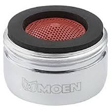 moen kitchen faucet aerator moen 3919 2 2 gpm thread kitchen faucet aerator chrome