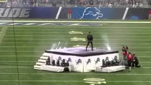 detroit lions 76th thanksgiving halftime show