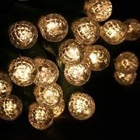 5mm warm white led lights on brown