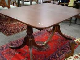 Duncan Phyfe Dining Room Table And Chairs Search All Lots Skinner Auctioneers