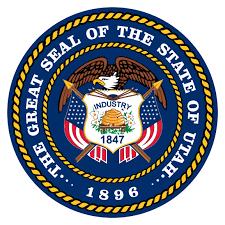 Gold Fringed Flag Meaning Utah U S