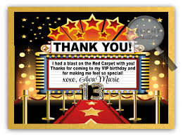 hollywood red carpet diva birthday invitations di 299 harrison