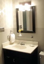 Fluorescent Bathroom Light Fixtures How To Change Light Fixture In Bathroom Medium Size Of Bathroom