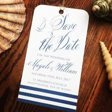 Nautical Save The Date Save The Date Cards U2013 Paper Pleasures Wedding Stationery