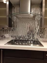 kitchen style dark gray subway glass tile kitchen backsplash