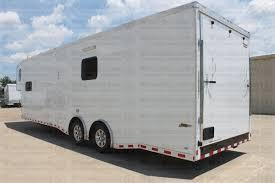 Cargo Trailer With Bathroom 36 U0027 Amg Bathroom Shower Race Trailer Wacobill Com For Sale In