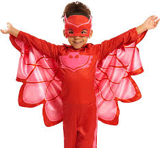 amazon prime halloween costumes amazon com pj masks owlette costume set toys u0026 games