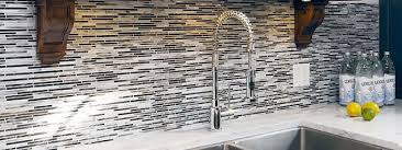 backsplash for black and white kitchen six kitchen backsplash ideas for 2018 city tile murfreesboro