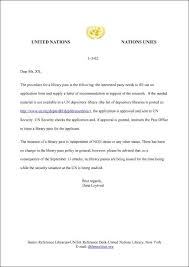 collection of solutions cover letter sample for the un in letter