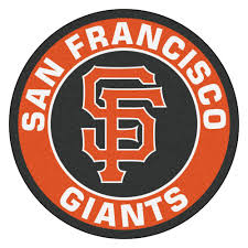 francisco giants logo roundel mat 27