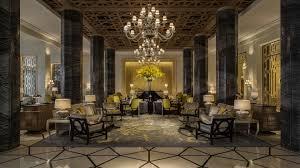 Chandelier Dubai Four Seasons Resort Dubai Bamo