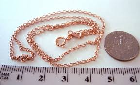 gold filled chain necklace images 2mm 16 quot 14k rose gold filled cable chain necklace jpg