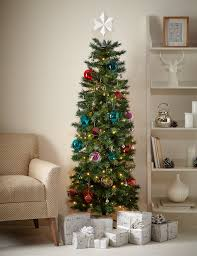 astonishing ideas slimline tree buy slim pre lit
