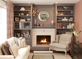 painting built in bookcases grown up family room traditional family room ottawa by