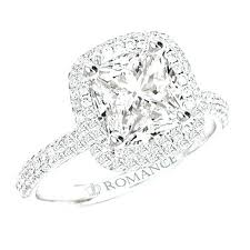 square cut rings images Square cut diamond wedding rings engageent square cut diamond jpg