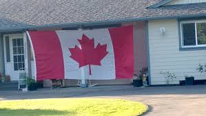 Outside Flag Video Unexpected Gift Flying Outside Langley Home Surrey Now Leader