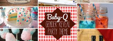 halloween gender reveal party ideas how to plan a gender reveal baby q bbq baby shower
