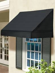 Window Awnings Phoenix 8 Ft Solid Window Awning Shades Retracts To Let In Light