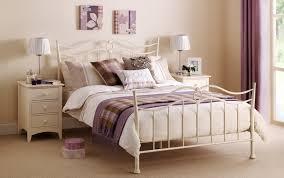 white metal bed frame furniture u2014 derektime design elegant and