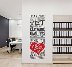 office wall decal quotes cool office wall decals home design image of office wall decal quotes customer service