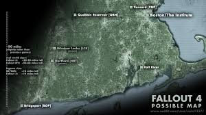 Paradise Massachusetts Map by Fallout 4 Speculation Map Quabbin Reservoir Boston Fallout