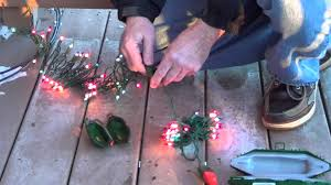how to connect outdoor christmas lights how to waterproof outdoor lighting electrical cord covers youtube