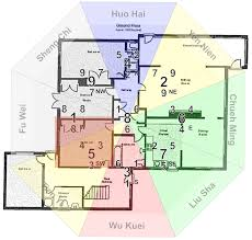 feng shui bedroom floor plan home design ideas