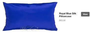 royal blue silk pillow cases u2013 silkpillowcases