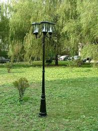Solar Exterior Light Fixtures by Smart Outdoor Light Post Fixtures U2014 All Home Design Ideas