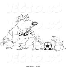 polar bear and penguin clip art 45