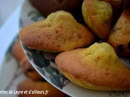 recettes de julie andrieu cuisine madeleines de proust avec bosse de julie andrieu par recettes de