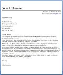 Sample Forklift Resume Machine Operator Resume Heavy Equipment Operator Resume Example