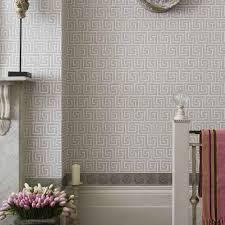 Greek Key Home Decor by Queens Key Wallpaper Neutraldecor Interior Interiordecor
