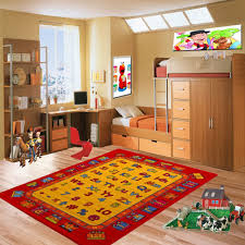 amazon com kids rug abc fun area rug 3 u0027 x 5 u0027 children area rug