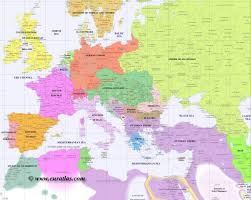 Blank Map Of Eastern Europe by Full Map Of Europe In Year 1900