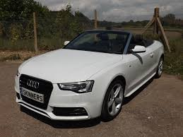 convertible audi white used 2013 audi a5 tfsi s line convertible 170 bhp for sale in rye