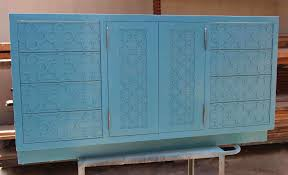 luxury blue bathroom decors with dark vanity wall mirrored hang on