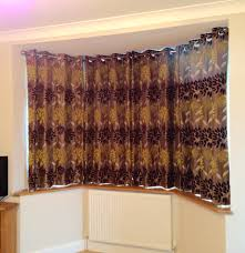 bay windows with stained glass u2013 bespoke curtains blinds