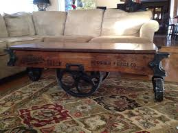 restoration hardware cart coffee table with ideas hd gallery 861