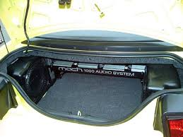 ford mustang audio system mach 1000 audio system debuts 2002 ford mustangs