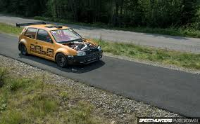 volkswagen bora modified two turbos eight cylinders a vw golf to decimate all speedhunters