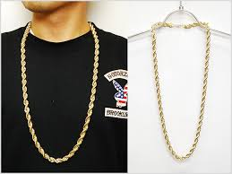 gold chain necklace rope images Solt and pepper rakuten global market for no brand rope chain jpg