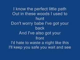 ticks by brad paisley with lyrics