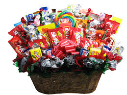 candy gift basket bulk candy gift ideas