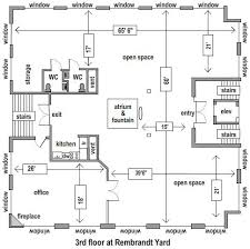 floor plan rembrandt yard floor plans rembrandt yard gallery event
