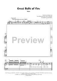 great balls of fire late elementary piano duet sheet music for